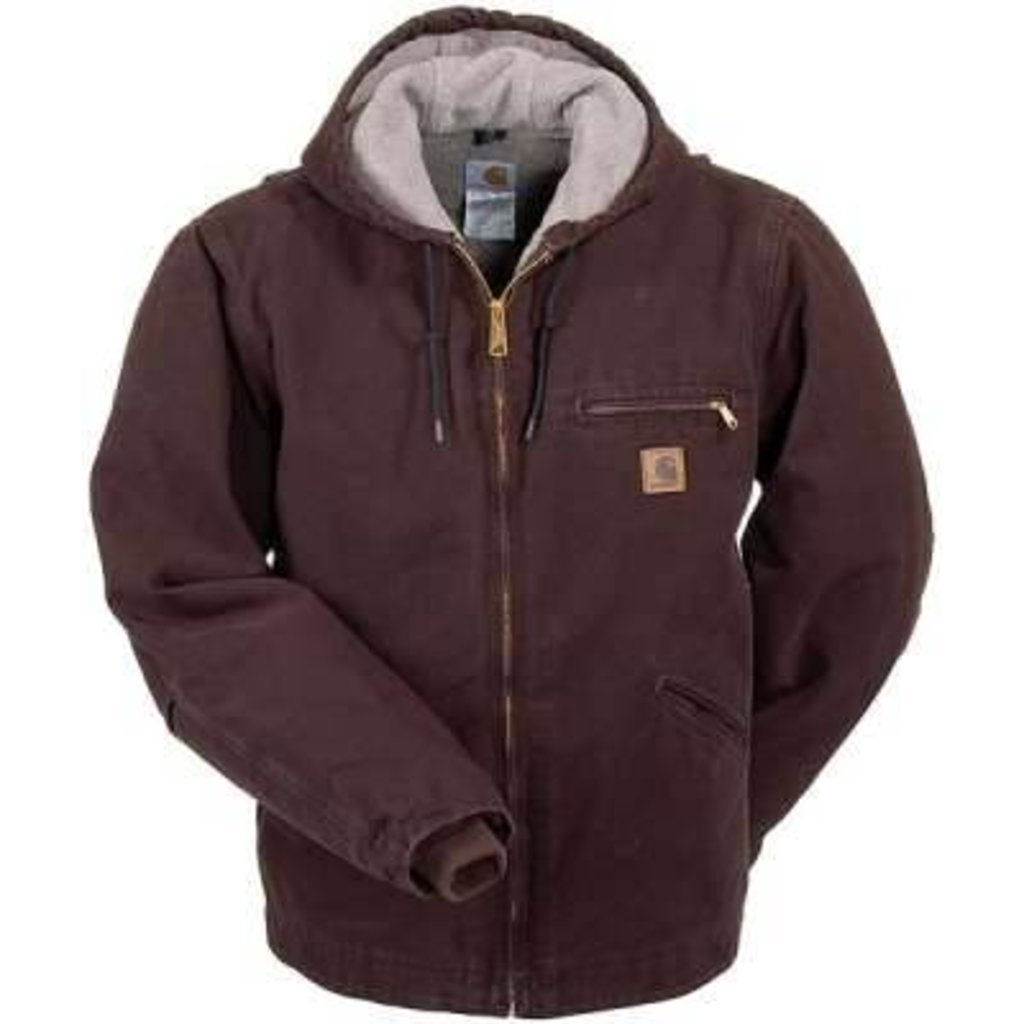 Carhartt Men S Sierra Jacket Sherpa Lined Style J141 Dkb