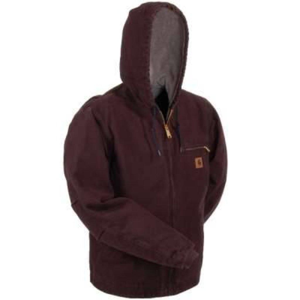 eb03a5d814c Carhartt Men s Sierra Jacket - Sherpa Lined Style  J141 DKB
