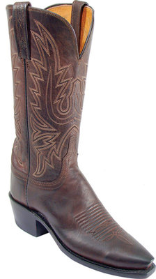 Lucchese 1883 Chocolate Mad Dog Goatskin