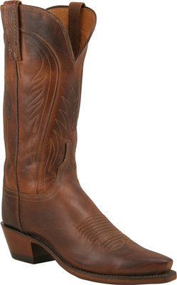 Lucchese 1883 Tan Burnished Ranch hand Cowgirl Boots