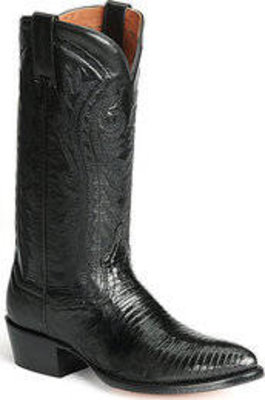 Dan Post Mens Boots Teju Black Lizard 3050R