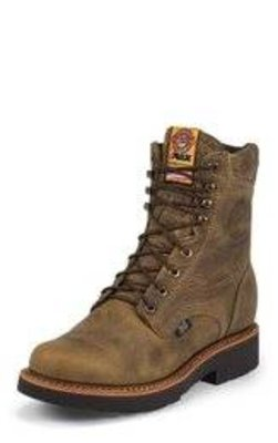 Justin Rugged Tan Gaucho Lacer - 440