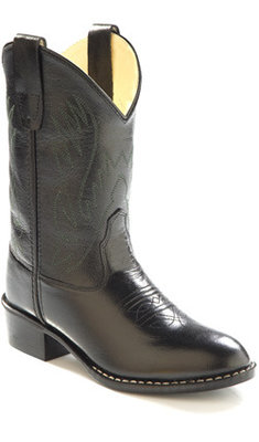 Old West-1110C / CCY1110, Black Cowboy Boots