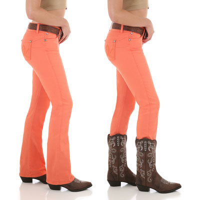 Wrangler Booty Up Sadie Orange -08MWZOJ