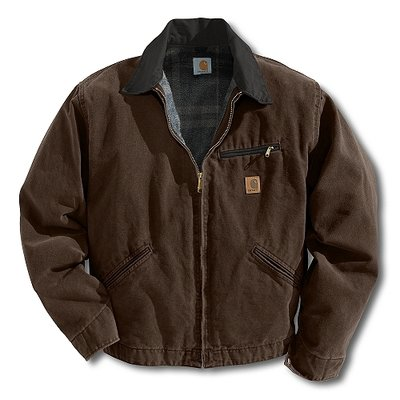 Carhartt J97 Detroit Jacket Dark Brown