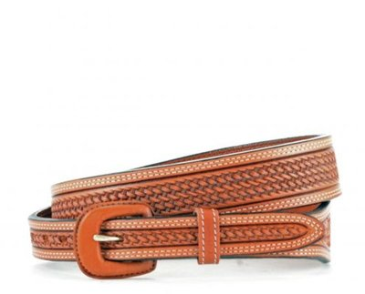 Vogt Tooled Belts Russet 041-049