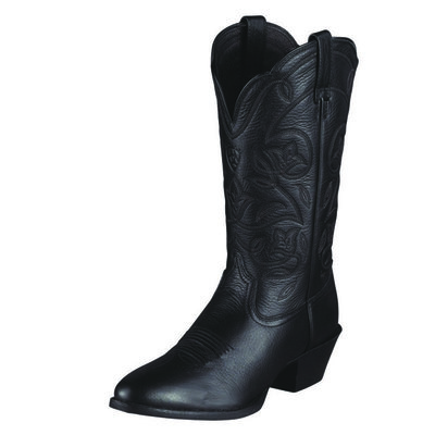 Ariat Heritage Western Boot R Toe Black