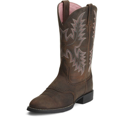 Ariat Stockman Boot Driftwood Brown