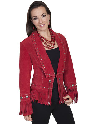 Scully Jacket RED BOAR SUEDE