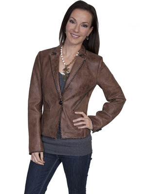 Scully Ladies BUFFED LAMB Jacket L173-256