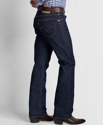 Levi 517 Bootcut Zipper Fly Prewashed Jeans