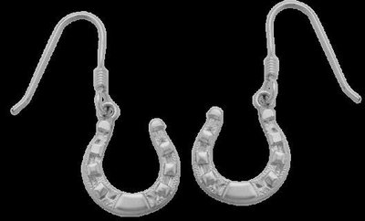 Bar-V Ranch Earrings Horseshoes