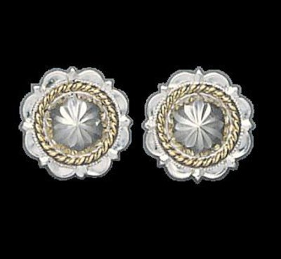 Bar-V Ranch Earrings  Pico Conchos