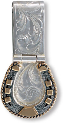Vogt-Money Clip Gold Horseshoe 021-046