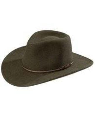 Stetson Crushable Gallatin Sage Green  Wool Hat
