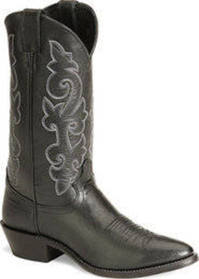 Justin Mens 1409-1419 Black Western Boot