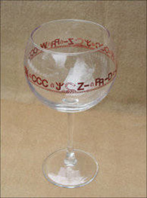 Bamco 4 20 oz connoisser red wine glasses