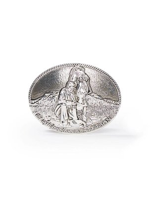 The Last Drop Belt Buckle