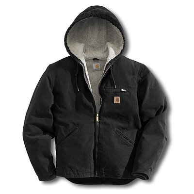 Carhartt Men's Sierra Jacket Black