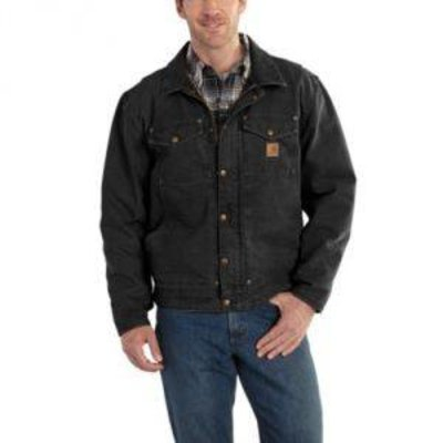 Berwick Jacket / Fleece Lined carhartt black