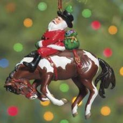 Breyer® Santa's Wild Ride Ornament