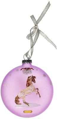 Breyer Artist Signature Ornament Mustang Holiday  Collection
